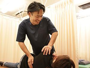 筋膜リリース 施術