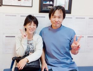 脳梗塞の後遺症 大阪市 40代女性